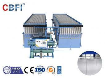 large automatic ice block machine